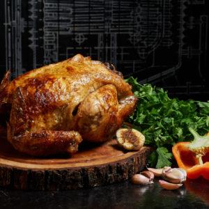 poulet roti bio