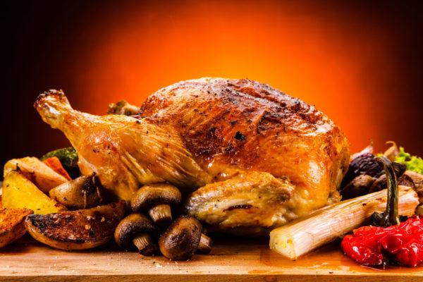 poulet roti fermier gros